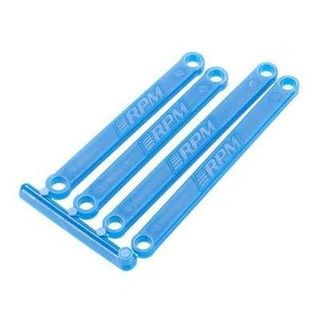 RPM 81265 Camber Links Blue Molded E-Rustler/E-Stampede