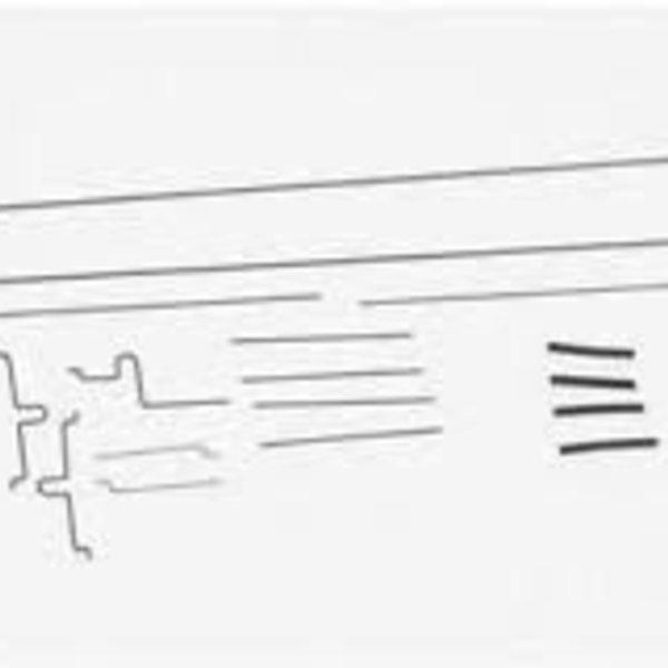 E-flite Pushrod Set: UMX Beast