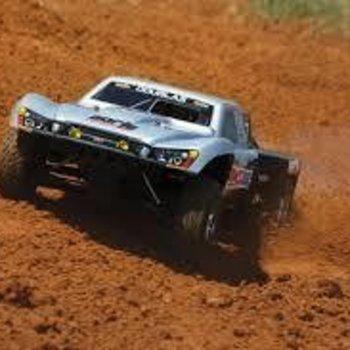 Traxxas 59076-3 1/10 Slayer Pro 4x4 4WD Nitro TSM Gray #7 Dougl