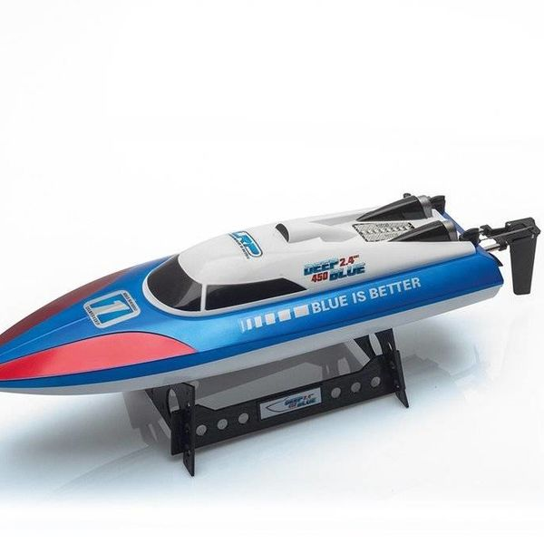 310103US Deep Blue 450 US 2.4GHz Hi-Spd Racing Boat RTR