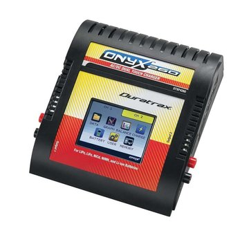 DuraTrax Onyx 260 AC/DC Dual Touch Charger w/Balancing