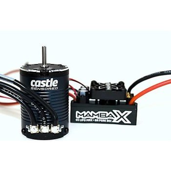 Castle Creations 010-0155-08 Mamba X 25.2V WP ESC +1406-1900kV