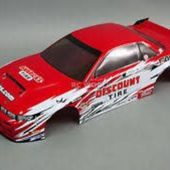 HPI 113087 Nissan S13/Discount Tire Painted E10 Body