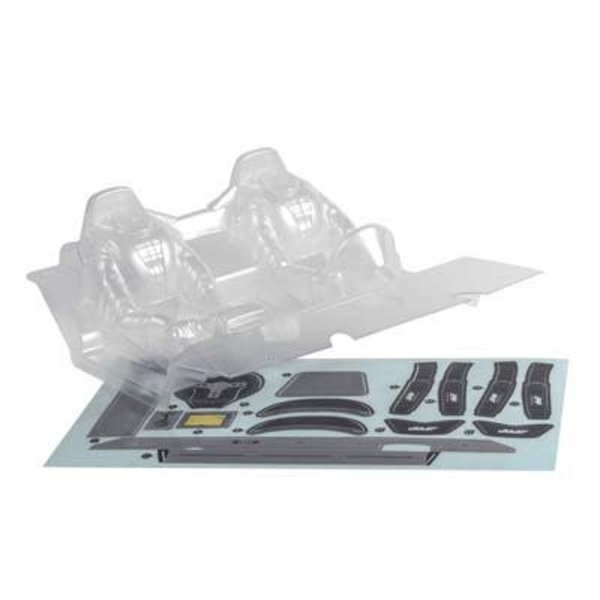 "axial AX31328 Interior Set .040"" Clear RR10"