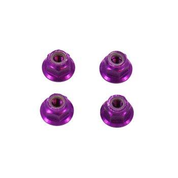 redcat Aluminum Nylon Lock Nut, M4 (4pcs) ~