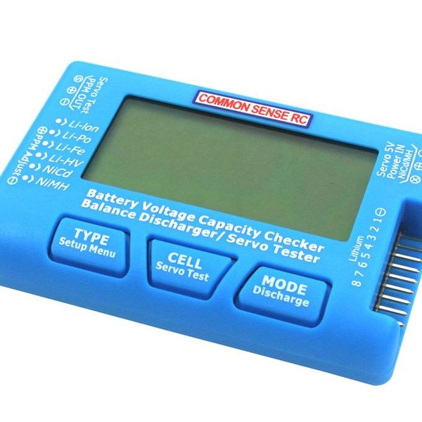 Commonsence RC 8 CELL VOLTAGE CHECKER /BALANCER