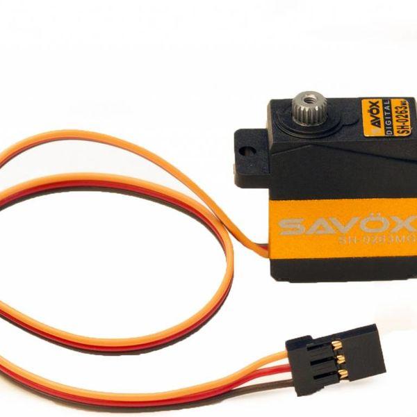 SAVOX SH0263MG MICRO DIGITAL SERVO 0.10/30