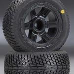 PROLINE 1102-11 Road Rage Street Tires Mounted 1/16 (2)