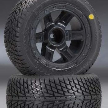 PROLINE 1102-11 Road Rage Street Tires Mounted 1/16 (2)