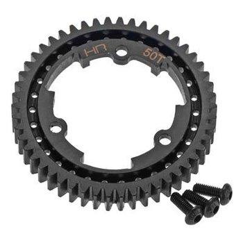 HOT RACING SXMX50M01 Steel Center Main Gear 50T 1m X-Maxx