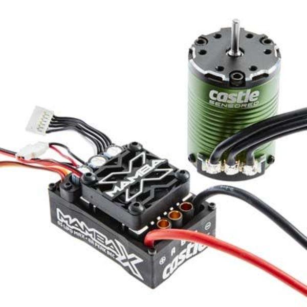 Castle Creations 010-0155-01 Mamba X Sensored 25.2V WP ESC + 1406-4600KV