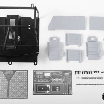 RC4WD VVV-C0378 RC4WD CC Hand INTERIOR PACKAGE FOR TRAIL FINDER 2 / MOJAVE