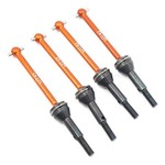 YEAH RACING YEAH RACING HPI RS4 SPORT 3 ALUMINUM FRONT & REAR UNIVERSAL SHAFT SET RSS3-006OR