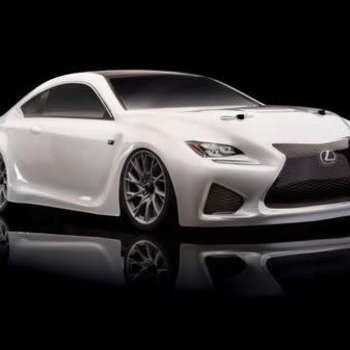 ASC 30118 Apex Lexus RC F Brushless RTR White