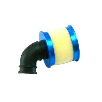 redcat Aluminum capped air filter w/ element (blue)