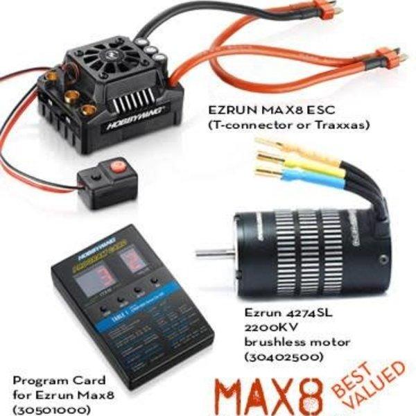 Max 8 ESC Combo with 4274/4268 2200KV Sensorless Motor