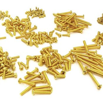 Integy Replacement Screw Set for Traxxas TRX4 Scale & Trail Crawler C27928GOLD