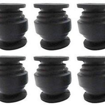 APEX Apex RC Products Gimbal Vibration Shock Absorption Rubber Ball - 10 Pack #9500