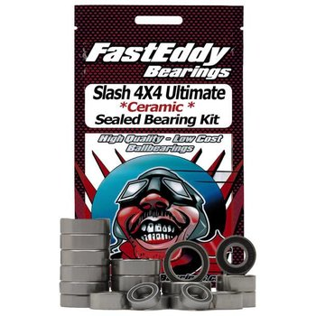 FAST EDDIE Traxxas Slash 4X4 Ultimate Ceramic Rubber Sealed Bearing Kit