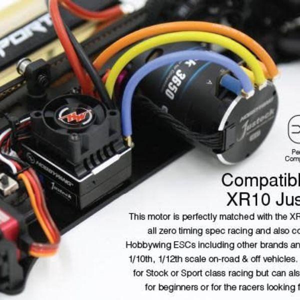 Xerun Zero Spec ESC/Motor Combo JS2 - 10.5T