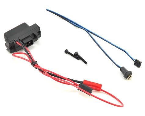 Traxxas 8028 LED lights, power supply (regulated, 3V, 0 5-amp), TRX-4/  3-in-1 wire harness