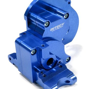 Integy T7983BLUE Alloy Gearbox Traxxas Stampede XL5/VXL