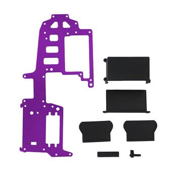 redcat Aluminum upper plate (purple) (requires 83014 battery pack)