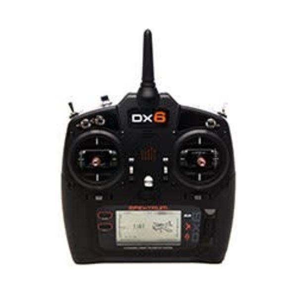 Spektrum DX6 G3 6-CH DSMX Transmitter w/AR6600T RX MD2