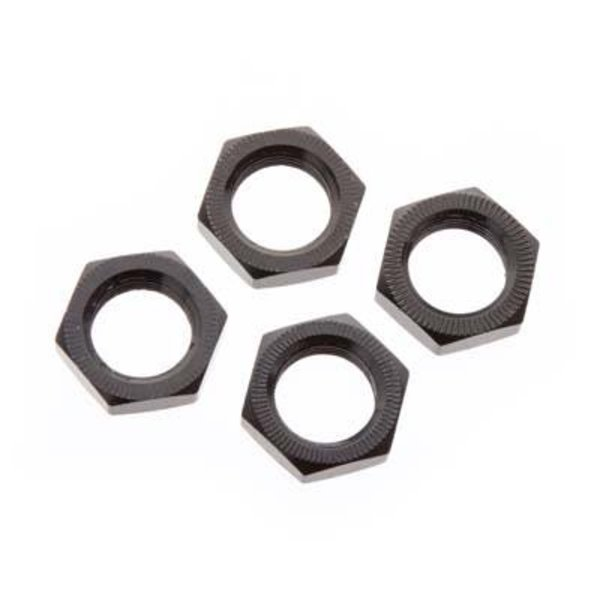 arrma AR310449 Wheel Nut Aluminum 17mm Black (4)