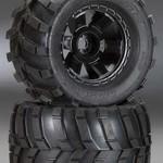 "PROLINE 1189-11 Masher 3.8"" All Terrain Tires Mounted Desp Blck"