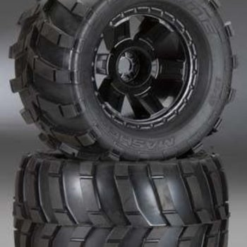 "PROLINE 1189-11 Masher 3.8"" All Terrain Tires Mounted Desp Blck"