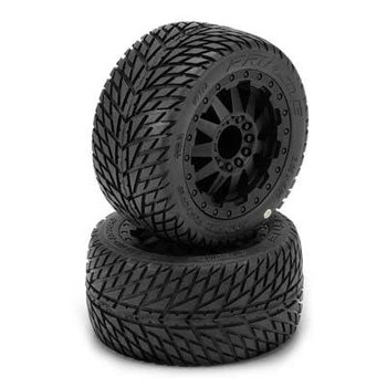 """1172-14 1/10 Road Rage 2.8"""" All Terrain Tires Mounted(2"""