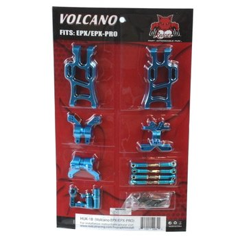 Redcat Racing Volcano EP/EP Pro hop up kit (New version) (Blue)