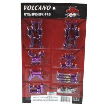Redcat Racing Volcano EP/EP Pro hop up kit (New version) (PURPLE)