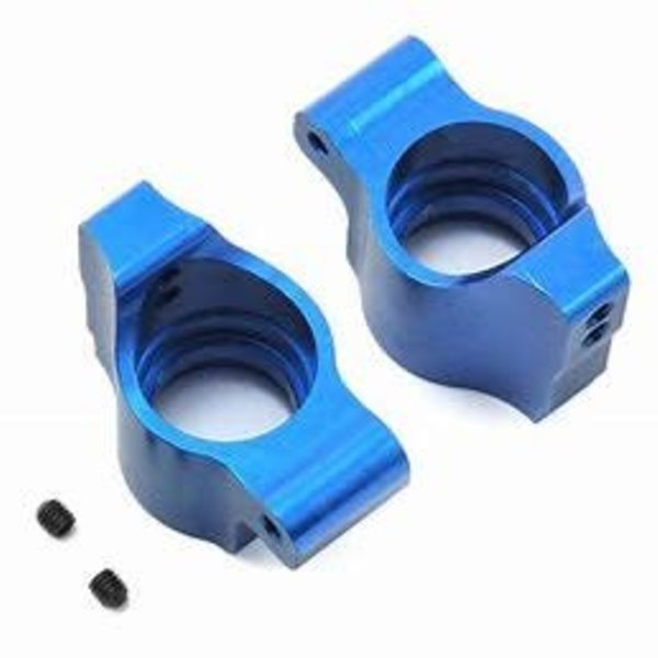 ASC B64 Factory Team Blue Aluminum Rear Hubs