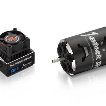 XR10 Justock G2 ESC and Motor Combo w/ 25.5T Justock Motor