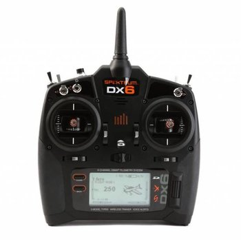 Spektrum DX6 Transmitter Only Mode 2
