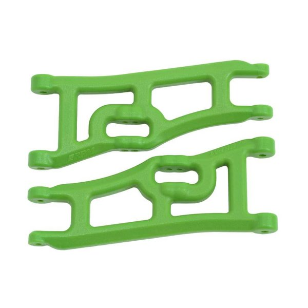 RPM 70664 Wide Front A-Arms Green Rustler/Stampede