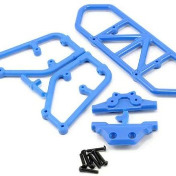 RPM 80125 RE BUMPER BLUE SLASH 4X4