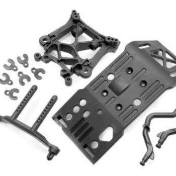 HPI 85234 Skid Plate/Body Mount/Shock Tower Set SVG X