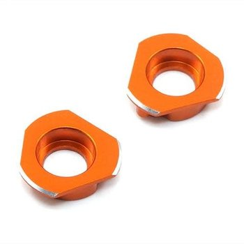 yah racing YEAH RACING HPI SPRINT 2 ORANGE ALUMINUM BEARING HOLDER HUB SPT2-013OR