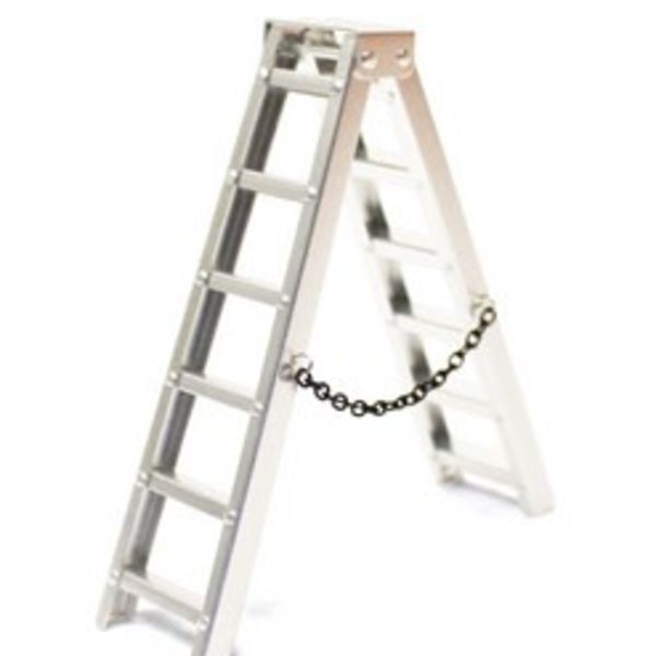 1/10 Scaler Aluminum Step Ladder (100mm)