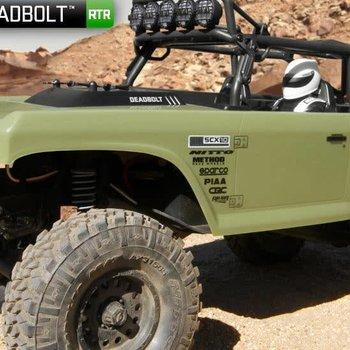 axial Axial SCX10 II Deadbolt RTR 4WD Rock Crawler