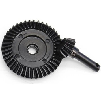 HOT RACING Spiral Differential Bevel Gear Set, Axial AX10, Wraith
