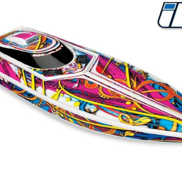 Traxxas tra38104-1 Blast boat with batt & charger