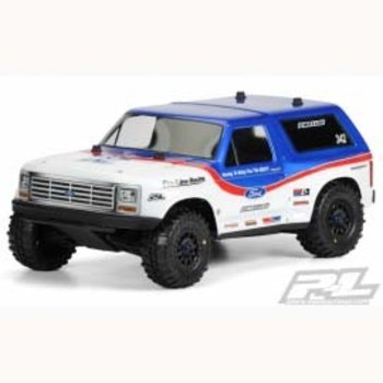 PROLINE 3423-00 1981 Ford Bronco Clear Body PRO-2 SC/Slash/SC10