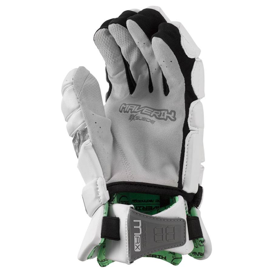 MAVERIK MAX GLOVE - WHITE, MEDIUM
