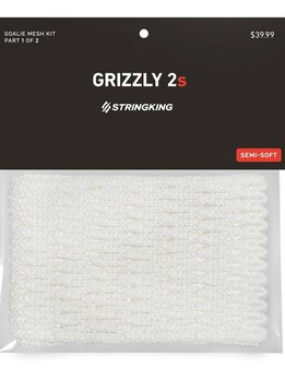 STRINGKING String King Grizzly 2S Goalie Mesh