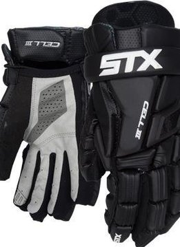 STX STX CELL III GLOVES - BLACK/BLACK,MEDIUM