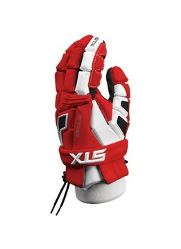 STX STX CELL III GLOVES - RED/WHITE,LARGE
